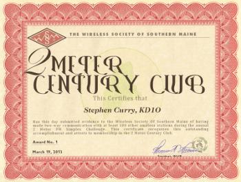 2 Meter Century Club