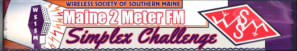 Maine 2 Meter Fm Simplex Challenge