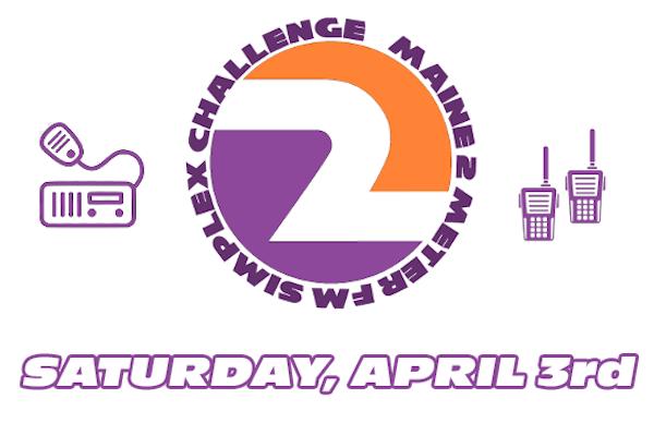 2021 Maine 2 Meter FM Simplex Challenge