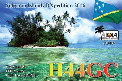 H44GC QSL Card
