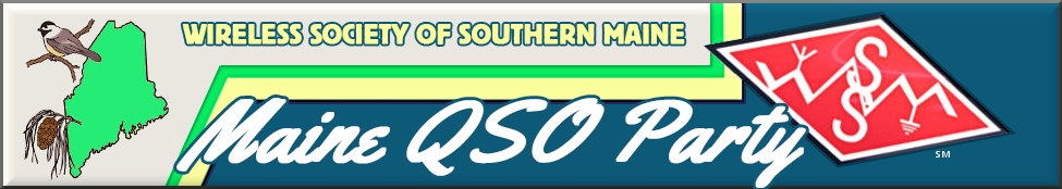 Maine QSO Party Banner