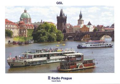 Radio Prague QSL