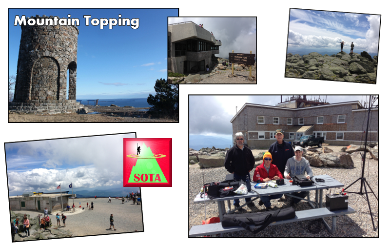 Mountain Topping & SOTA Activities