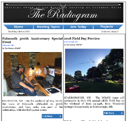 The Radiogram Field Day Edition 2018