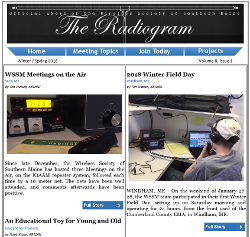 The Radiogram Spring 2018