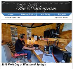 The Radiogram Summer Fall 2019
