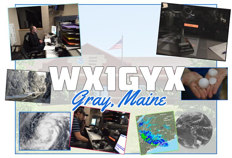 WX1GJY SKYWARN Amateur Radio station