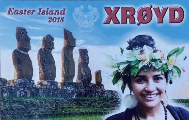 XR0YD Easter Island