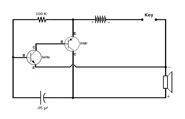 cw oscillator design