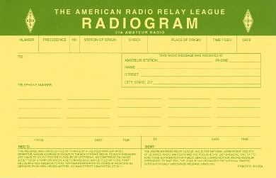 Radiogram Form